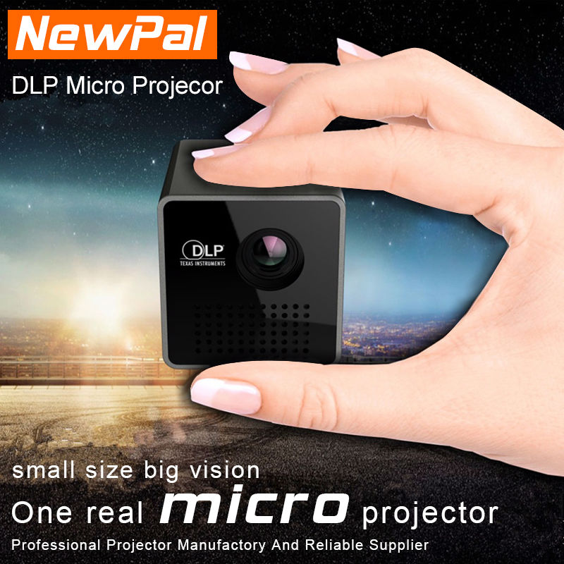 UNIC Projector P1 DLP Projector Full HD 1080P 3D Projector LED Mini Pico Proyector Best Home Cinema Theater Beamer Only 200G(China (Mainland))