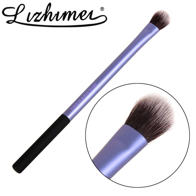 Фиолетовый мягкий 1 шт. макияж кисти база тени для век кисти профессиональный косметическая ...