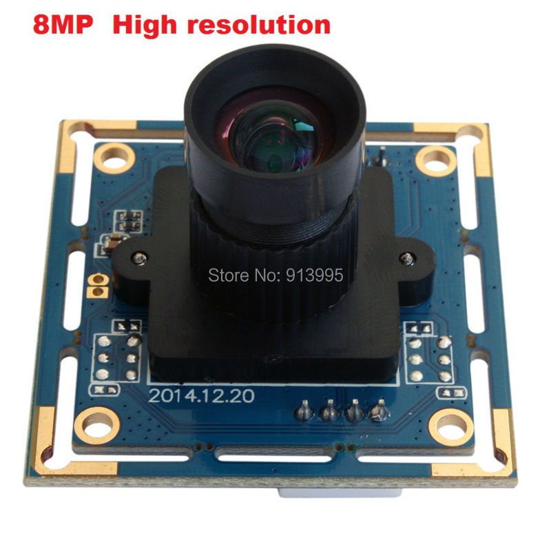 ELP 8 megapixels high resolution SONY IMX179 mini  25mm focal length lens Android video camera UVC for Windows,free shipping <br><br>Aliexpress