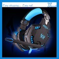 EACH G2100 Vibration Function Professional Gaming Headphone Games Headset with Mic Stereo Bass LED Light for