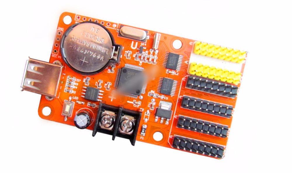 LED electronic screen bar LED display screen module P10 control card CX-U4(China (Mainland))