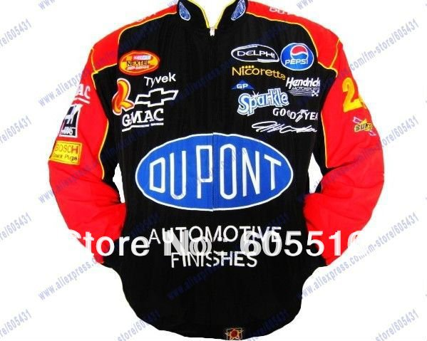 2013 NEW HOT TOP JACKET Blouson Jeff Gordon 24 Dupont NASCAR(China (Mainland))
