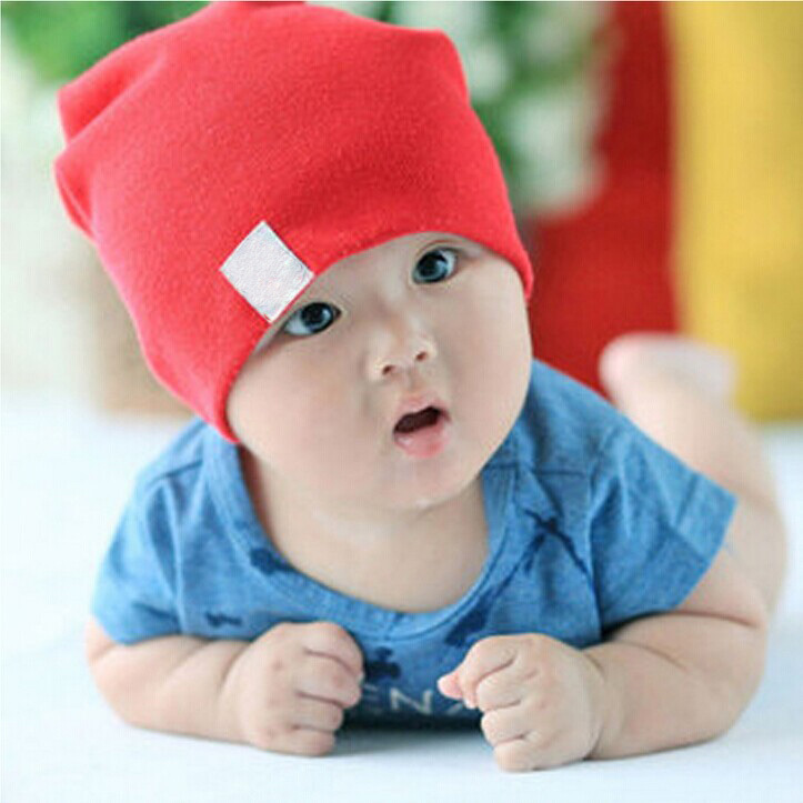 1 X Hot Unisex New Born Baby Boy/Girl Kawaii Cute Soft Cotton Beanie Hat Soft Toddler Infant Caps Baby Accessories(China (Mainland))