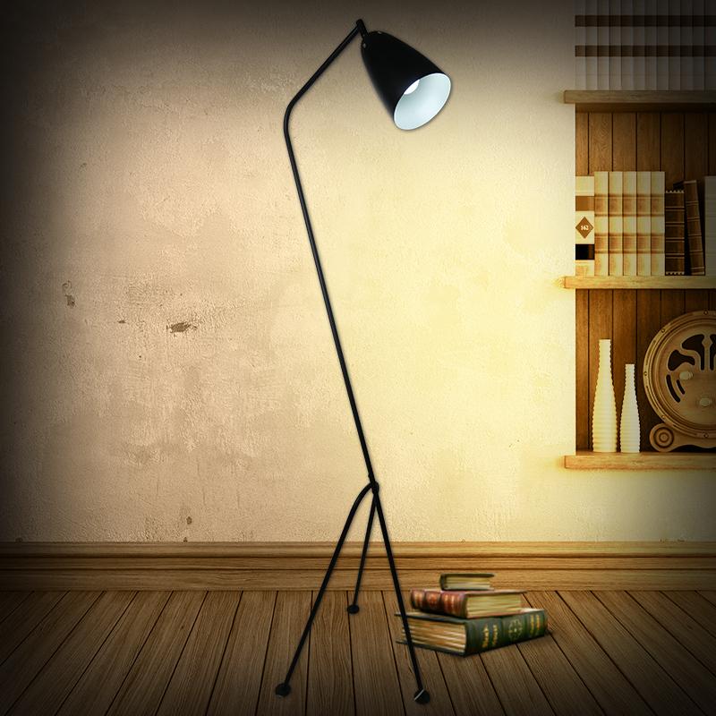 kc american ikea lamps retro design of industrial wind trigeminal office floor lamp standing. Black Bedroom Furniture Sets. Home Design Ideas