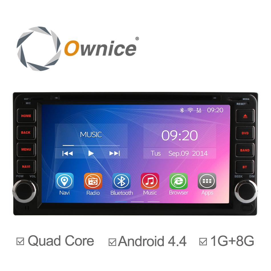 Free Shipping Quad-Core A9 Pure Android 4.4.2 Car DVD GPS Video Player For Toyota RAV4 COROLLA Previa VIOS HILUX Prado Terios(China (Mainland))