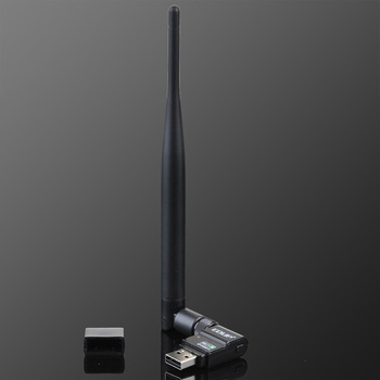 Free Shipping 802.11b/g/n 300Mbps High-Definition 8191SU Chipset Wireless USB TV LAN Network Adapter Card with Antenna