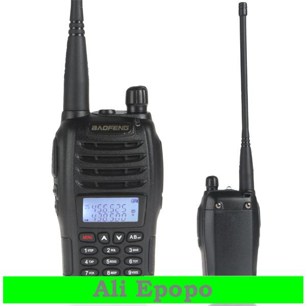 3 sets/lot BaoFeng UVB6 New Digital Walkie Talkie U/V Intercom Interphone 136-174/400-470MHz Dual Band Two Way Radio Transceiver(China (Mainland))