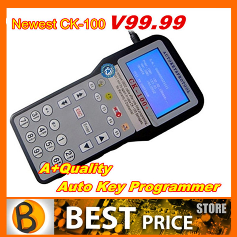 2015 Best Price DHL Free V99.99 CK100 CK-100 Auto Key Programmer SBB Silca CK 100 Key Programmer Support Multi-languages Car(China (Mainland))