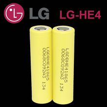 3 pcs .. New LG HE4 18650 lithium-ion battery 3.7 V 2500 mAh battery can keep the electronic cigarette 20A 30A discharge