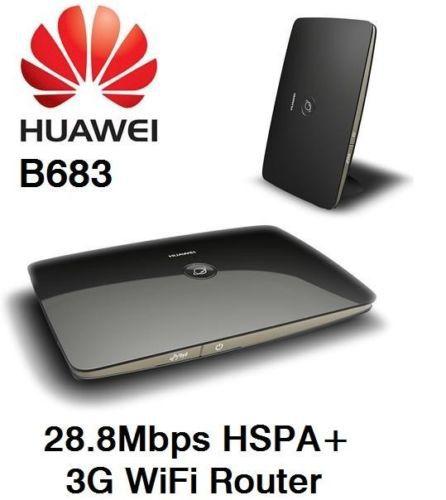 [해외]잠금 해제 화웨이 B683 무선 전골 GPRS / EDGE 850 / 1,80..