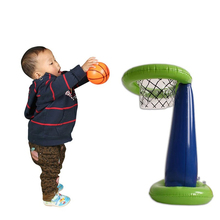 60*32cm Inflatable Toys basketball Stand game pitching for children nursery toys props indoor and outdoor activities (China (Mainland))