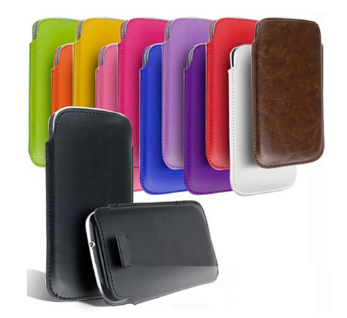 NEW 2015 Factory Outlet fashion 13 Color pu Leather Pouch cover Bag for HTC Droid Incredible2 Case phone cases is in stock(China (Mainland))