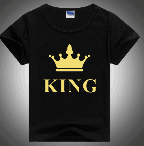 2016 little kids princess print t shirts for boys and girls retail also can make your logo(China (Mainland))