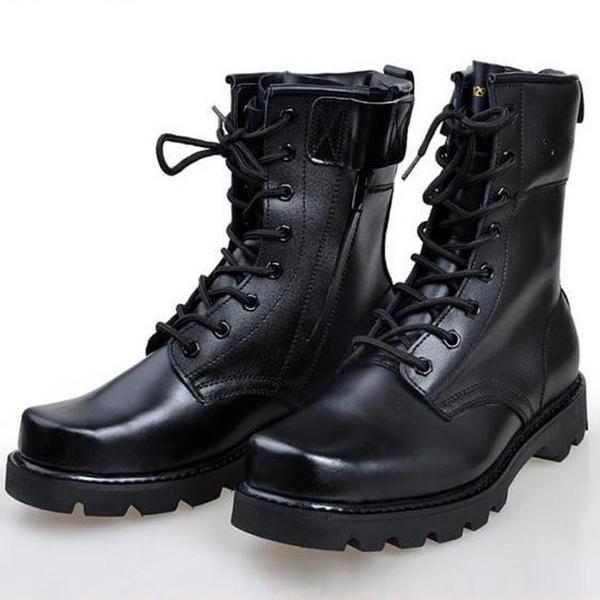 botas de combate