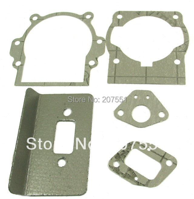 Complete gasket set 2-stroke 49cc engines found gas scooters, pocket bikes, mini-choppers, ATVs dirt bikes d - Universal Parts (Jinan store Co., Ltd.)