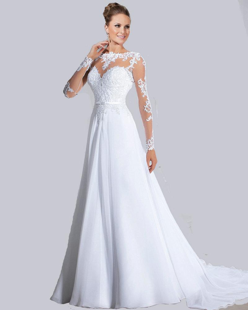 100 48 Elegant Long Sleeve Wedding 48 Elegant Long