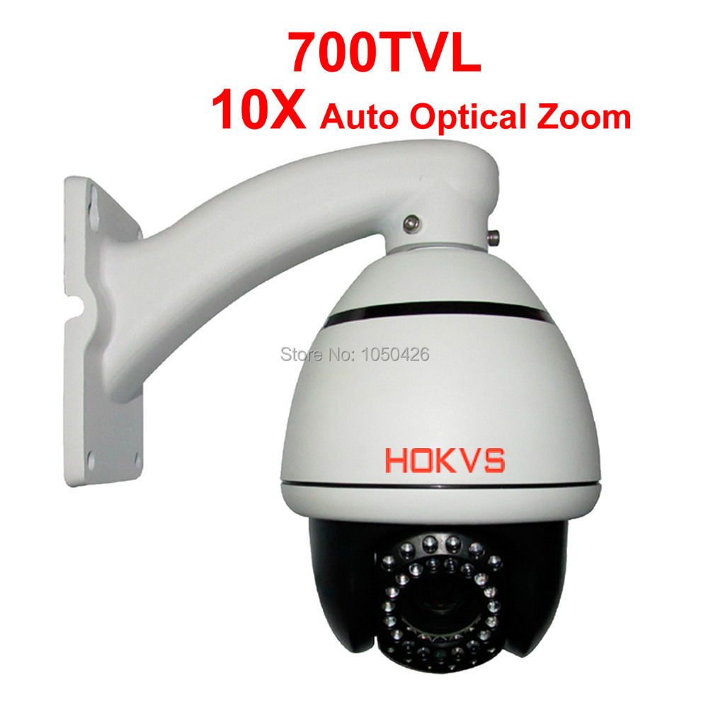 Sony Effio - E Infrared IR 50M Pan Tilt Zoom 10X Optical Zoom 4 Inches Mini PTZ Analog High Speed Dome CCTV Cameras<br><br>Aliexpress