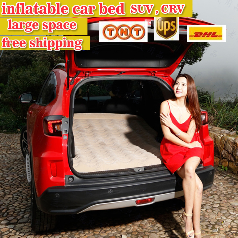 large sapce fast shipping Inflatable car bed with pillow Inflatable seat outdoor sofa thicken outdoor mattress car mattress(China (Mainland))