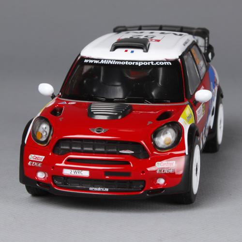 Alloy car model mini countryman wrc automobile race tension - Grace Duan's store