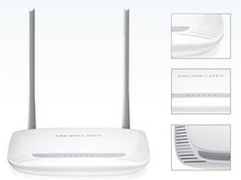 New MW300R 300Mbs 11N 802.11b/g/n Wireless Wifi Router 4-Port WIFI Lan Broadband Router White(China (Mainland))