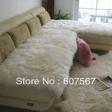 Wool sofa cushion piaochuang pad carpet leather,car seat cushion(50*80cm)(China (Mainland))