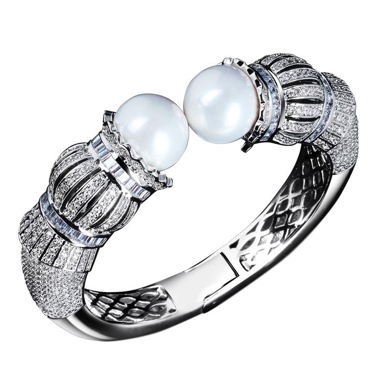2013 New Fashion bracelet cubic zircon bangle wholesale Fashion bangles   65102-18-31<br><br>Aliexpress