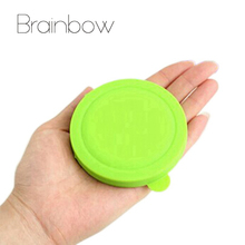 New Makeup Mirror Folding Pocket Mirror Compact Silica Gel Portable Cute Small Hand Mirrors Makeup Cosmetic espejo de maquillaje(China (Mainland))