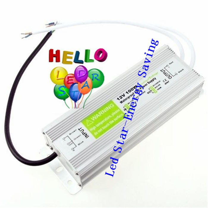 Wholesale-DC12V-100W-IP67-Waterproof-Electronic-LED-Driver-Transformer-Power-Supply-Aluminum-alloy-For-3528-5050