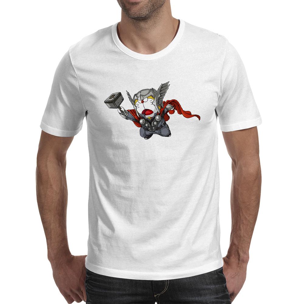 Dora Thor T Shirt Hip Hop Casual Print T-shirt Skate Brand Creative Unisex Tee(China (Mainland))