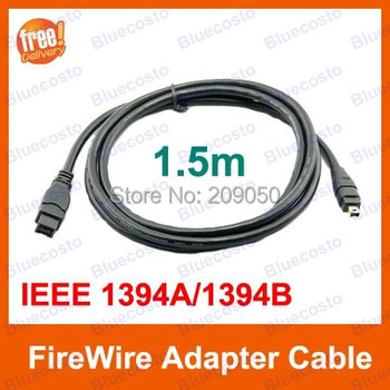 IEEE 1394 9pin to 4Pin Connector Cable,Firewire 400 to 800 Converter Cord