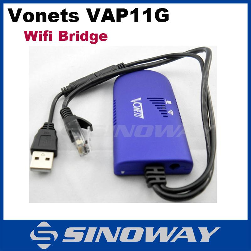 200% Original Vonets VAP11G RJ45 Mini Wifi Bridge Wireless Bridge For DMBox Openbox Camera TV Wifi Adapter(China (Mainland))