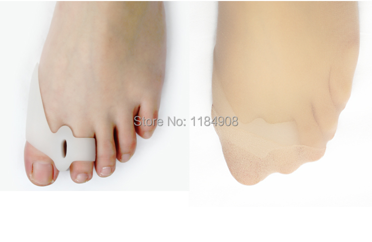 Free shipping New Feet  carePedicure Eases Foot Pain Toe Spreader Straightener Corrector Hallux Valgus Foot Care<br><br>Aliexpress