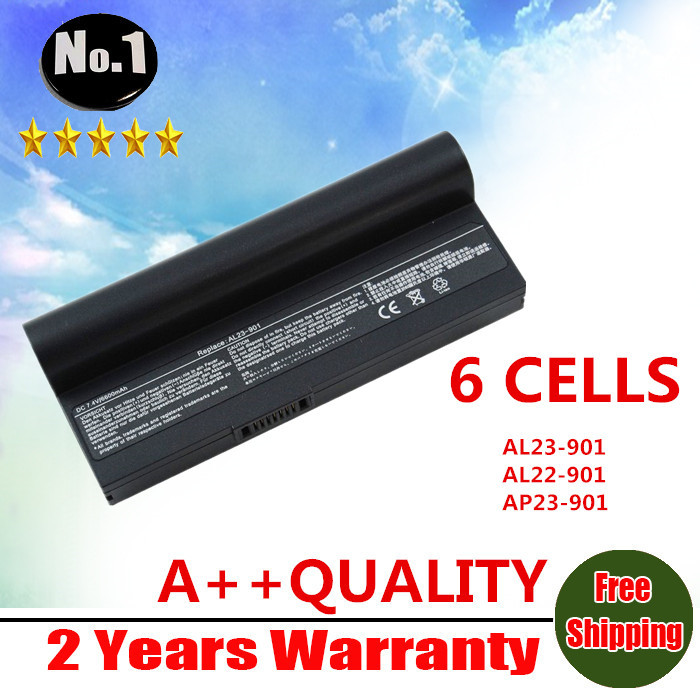[Special Price] New 6 cells laptop battery For ASUS  Eee PC 901 904HD 1000 1000H 1000HD Series, Eeepc 901  AL24-1000  AL23-901<br><br>Aliexpress