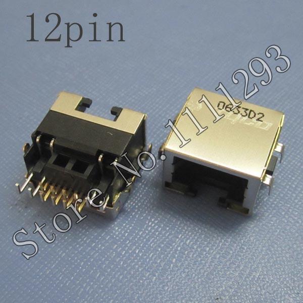 Lan Jack Connector for Acer Aspire 3100 3690 5100 5110 5515 Emachines E620 HP Pavilion V5000 DV5000 DV8000 Motherboard RJ45 Port(China (Mainland))