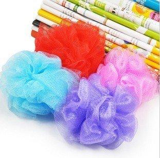 Fahion Fine Cloth Mitt Exfoliating Body Bath Scrubber Moisturizing Bath Gloves Bath Flower Free shipping