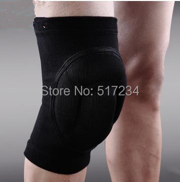 Professional Paintball Football Basketball Volleyball Tennis Skating Kneepad Knee Brace Bike Protection Free Shipping(China (Mainland))