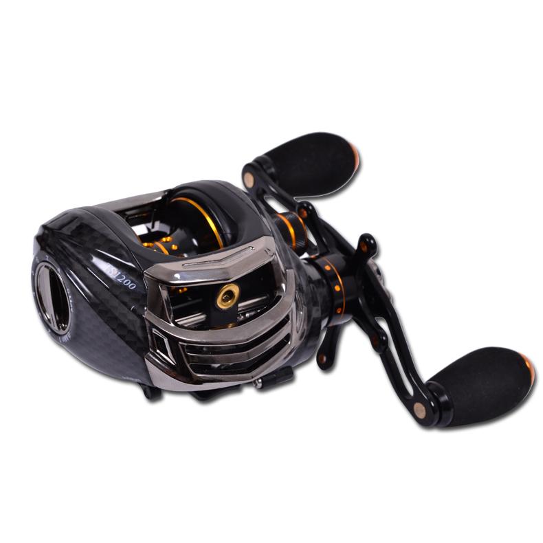 Trulinoya TS1200 14 Bearings Black Left Hand Bait Casting Fishing Reel Baitcast Compare abu Garcia Pesca daiwa reel(China (Mainland))