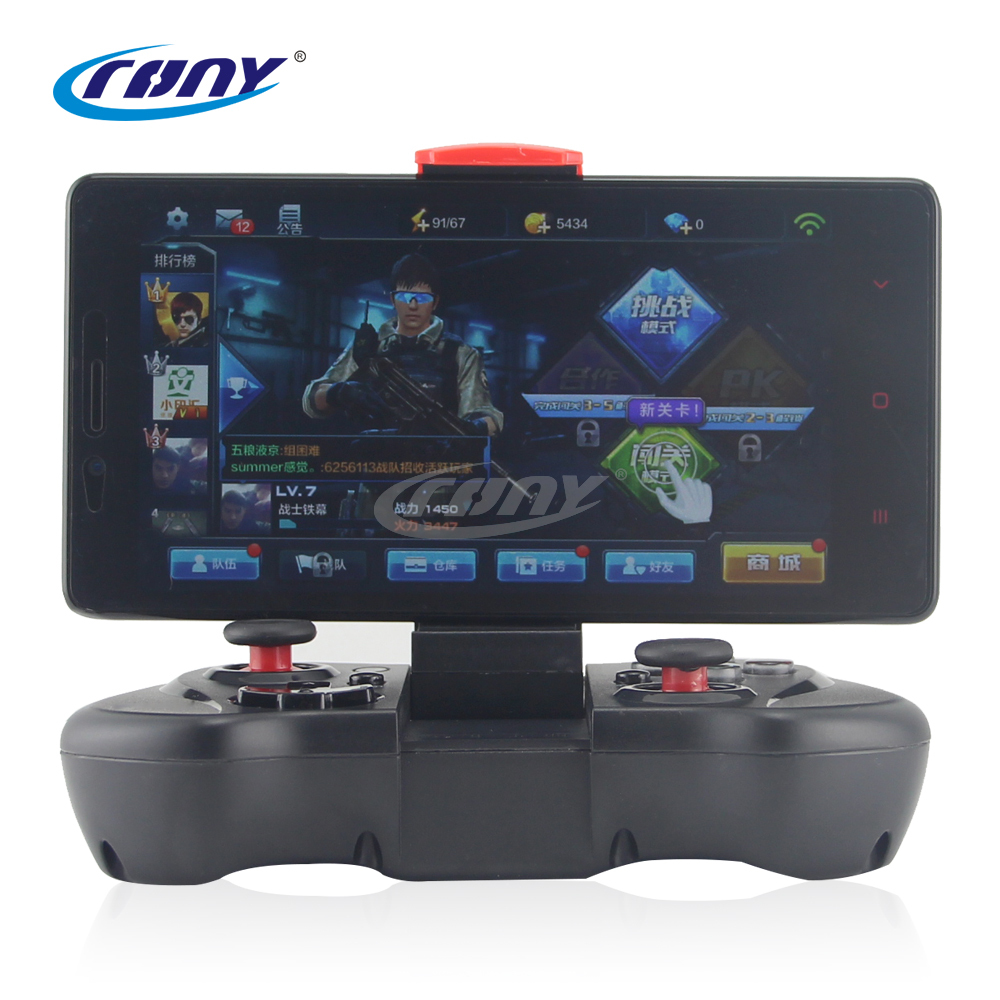 New Wireless Bluetooth Controller Supports Different android/ ios/ PC games wireless gamepad PG-9033(China (Mainland))