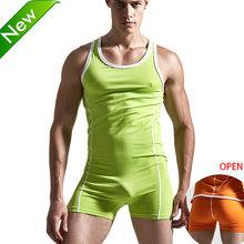 Homens Superbody Sexy Undershirt bodysuit órgão de lotação sexy Homem Undershirts macacão wresting shapper gay exótico clube macacão(China (Mainland))
