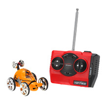 Buy Original Create Toys 2152B 27MHz 2CH Mini RC Car Rolling Rotating Wheel RC Stunt Car Kids' toys for $10.38 in AliExpress store