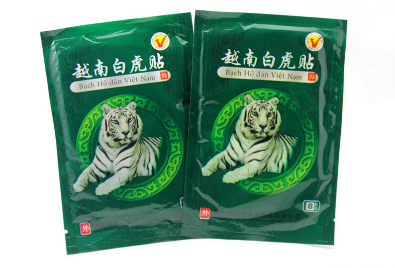 Гаджет  32pcs Vietnam creams White Tiger Meridians paste Rheumatoid arthritis Lumbar spondylosis Cervical spondylosis tiger balm plaster None Красота и здоровье