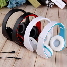 Wireless Bluetooth Stereo Foldable Headset Handsfree Headphones Earphone with Micphone for iPhone For Galaxy For HTC