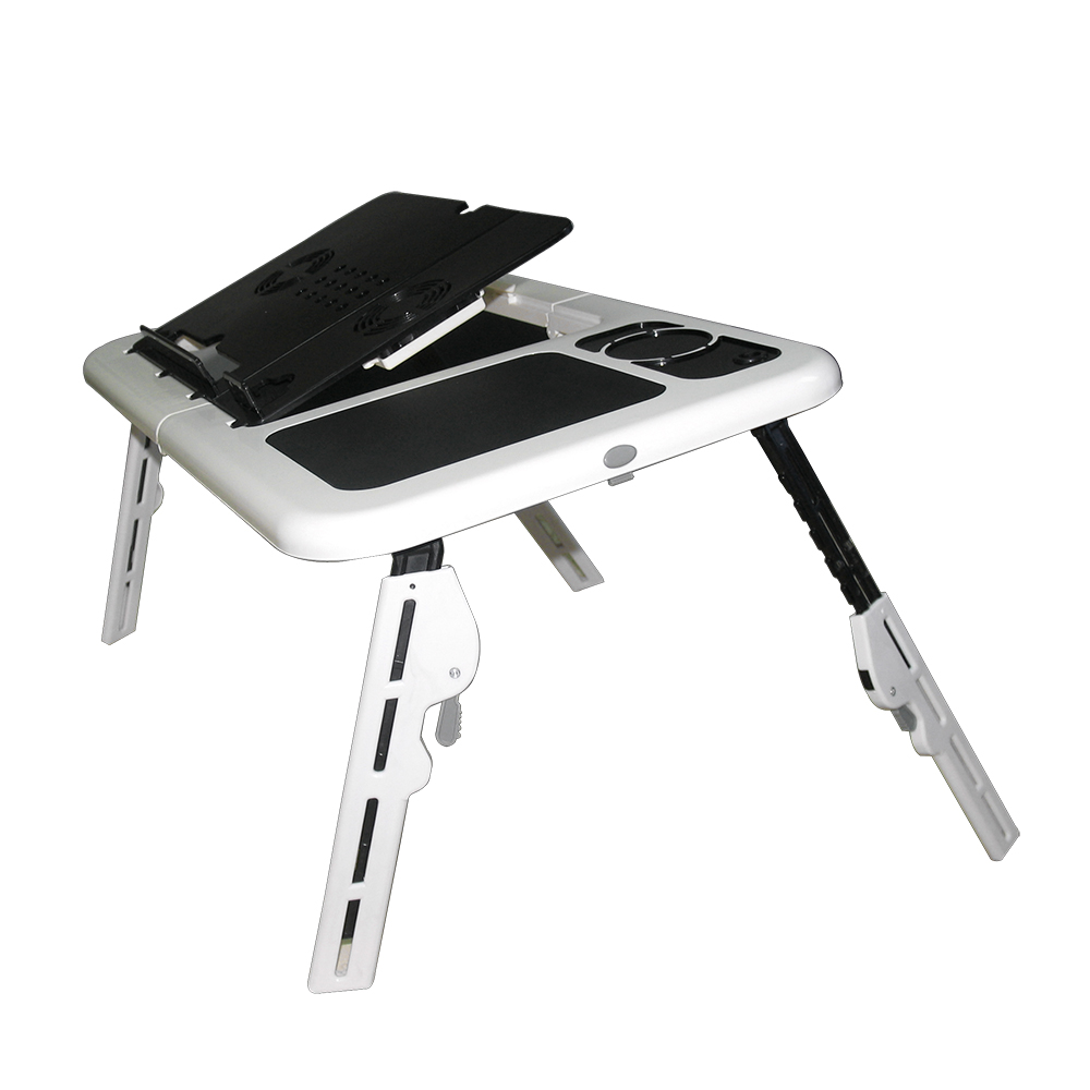 Portable Adjustable Foldable Laptop Table on Bed Tray Book Stand breit Tablet Lap Desk