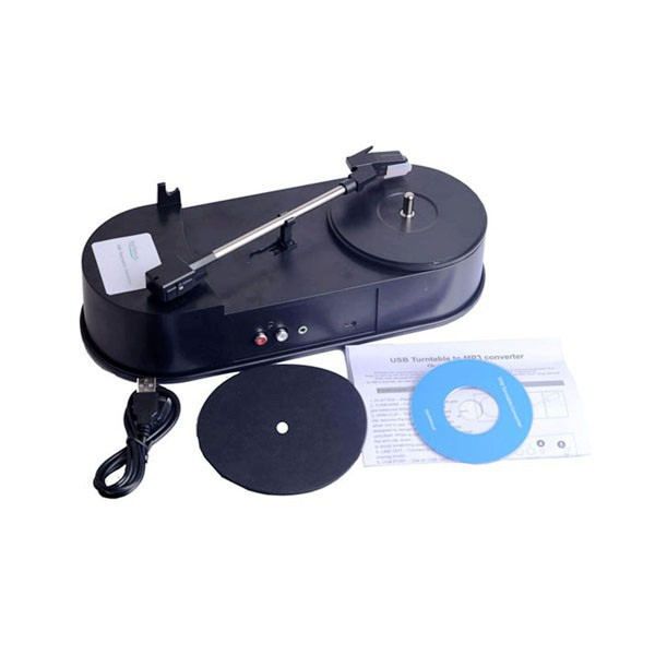New USB Mini Vinyl Turntables Audio Player Support Turntable Convert LP Record to CD or MP3 Music Phonograph Classics Player(China (Mainland))