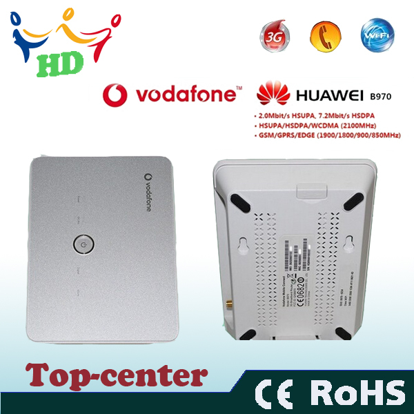 2014 Huawei B970b Original 3G wireless Router Support LAN With SIM Card Slot Home(China (Mainland))