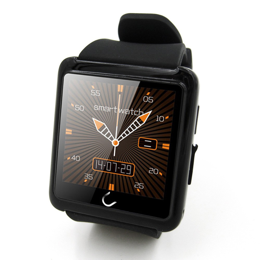 Original Uwatch U10L Bluetooth Smartwatch High Quality Silicone Strap Smartwatch U10L Lemfo for ios Android Multi Language<br><br>Aliexpress