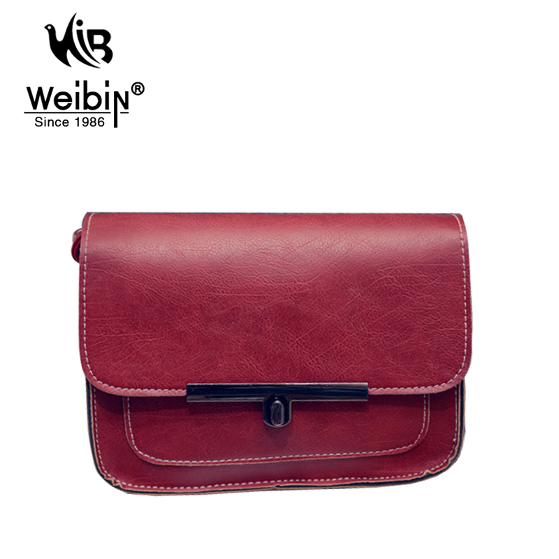 Ladies Brand Leather Flap Bag Women Crossbody Sling Bags For Women Small High Quality Messenger Bags 2016 New Handbag Sac A Main(China (Mainland))
