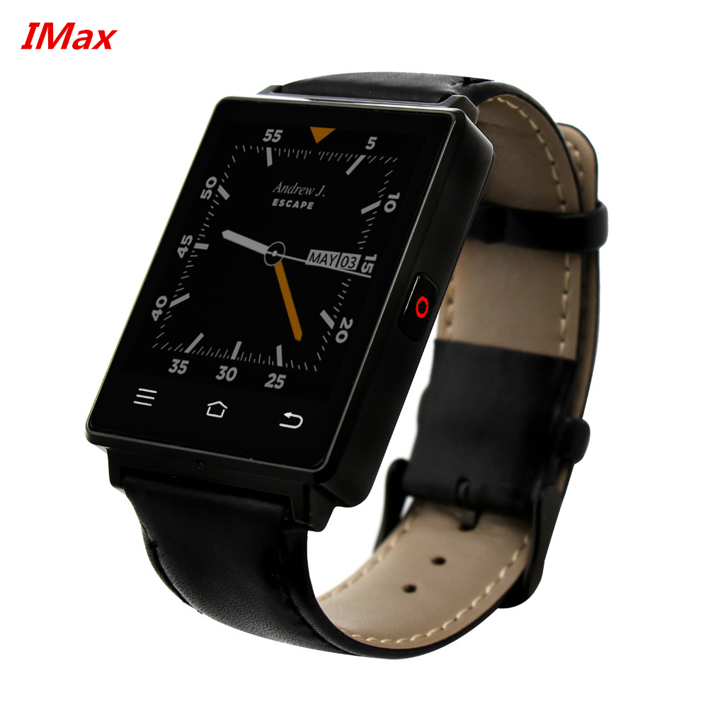 New Arrival 1G RAM 8 G ROM Quad Core 3G mtk6580 Smart Watch No.1 D6 Android 5.1 Wear WiFi GPS Smartwatch no 1 d6 FM Radio wach(China (Mainland))