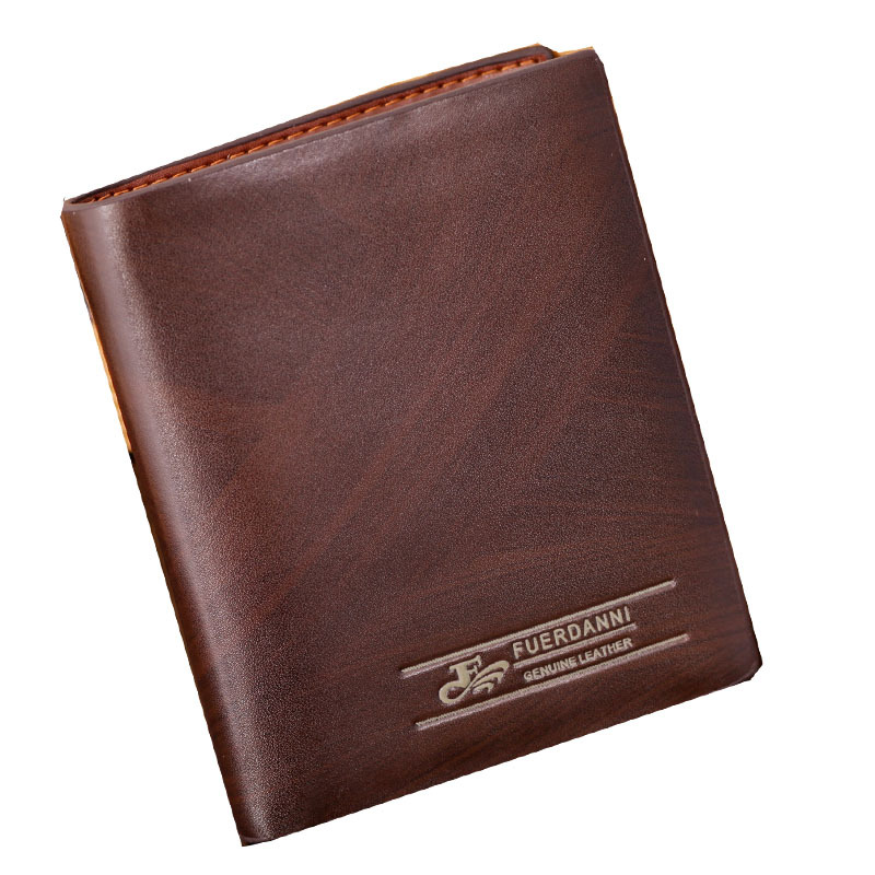 2015 New Arrival Brand PU Leather Men Wallet Coin Pocket Men Small Purse Male Purse Small