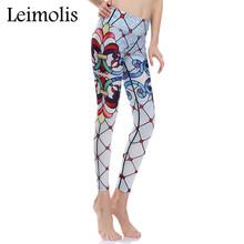 Buy Leimolis 3D print reticulation flower winter warm Harajuku adventure time workout push plus size fitness leggings women pants for $11.19 in AliExpress store